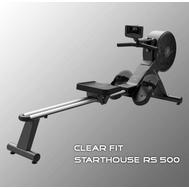 Гребной тренажер CLEAR FIT STARTHOUSE RS 500, аэромагнитный, фото 1