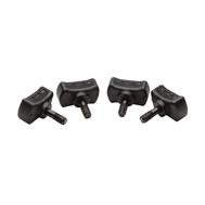 Винты для креплений O'Brien 4 Pack Thumbscrews 6mm Black (BLK), фото 1