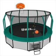 Баскетбольный навесной щит для батута UNIX line SUPREME, фото 1