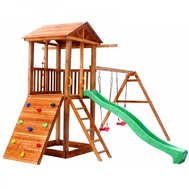 Детская площадка МОЖГА СПОРТИВНЫЙ ГОРОДОК 5 С КАЧЕЛЯМИ, фото 1